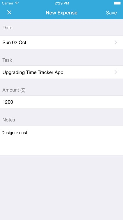 Time Tracker Free screenshot-2