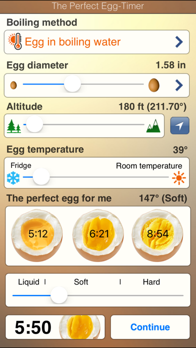 The Perfect Egg Timer review screenshots
