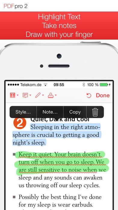 PDF Pro 2 – Die ultimative PDF AppScreenshot von 4