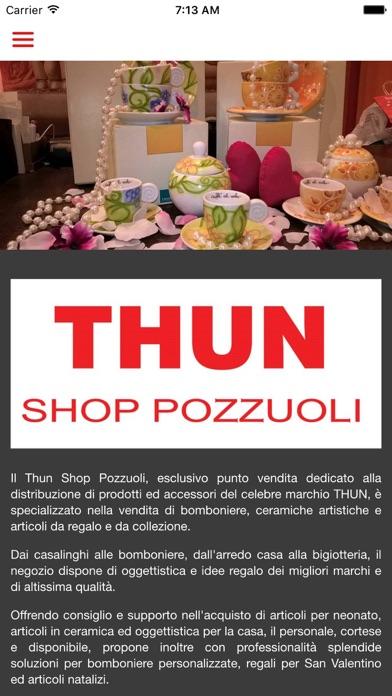Screenshot of Thun Shop Pozzuoli3