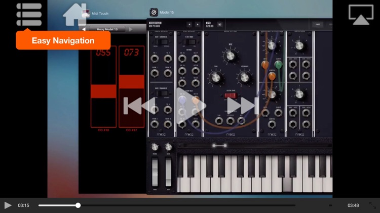 Video Guide For Moog Model 15 screenshot-3