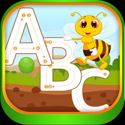 A-Z Alphabet Coloring Tracing Game for kids