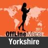 Yorkshire mapa offline y guía de viaje