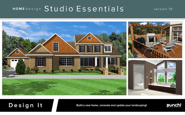 Punch! Home Design Studio Essentials 19 on the Mac App Store on punched window design, v logo design, punch super home suite, punch pro installs, punch architectural series, blue sky cake design, punch landscape, punch crafts, punch out in architecture,