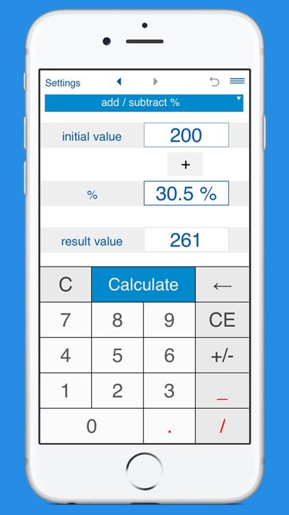 Smart Percentage Calculator