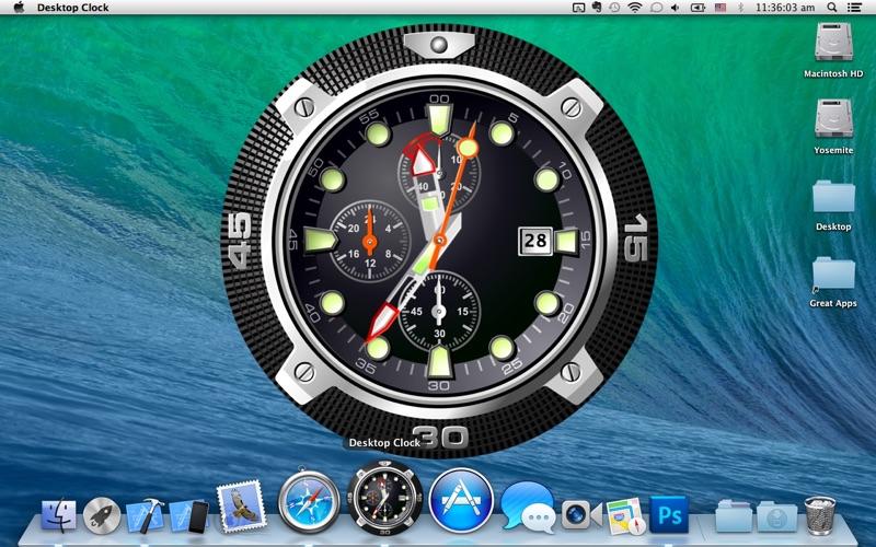 Screenshot 4 For Desktop Clock Wallpaper Live Dock