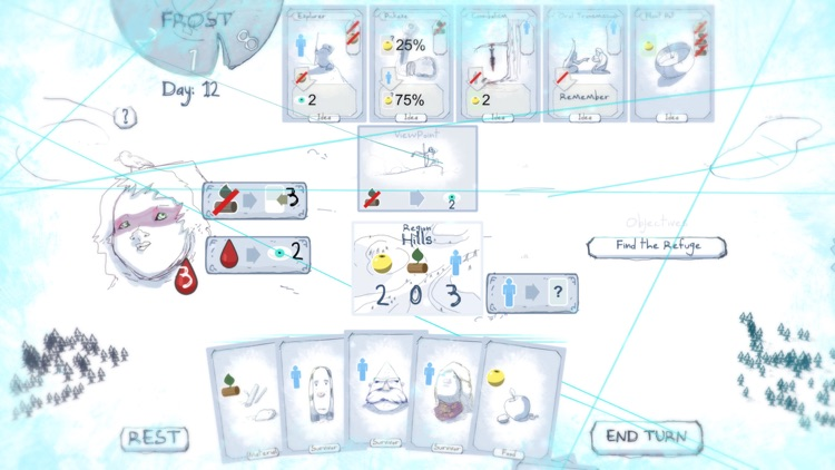 Frost - Survival card game