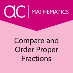 Compare and Order Proper Fractions
