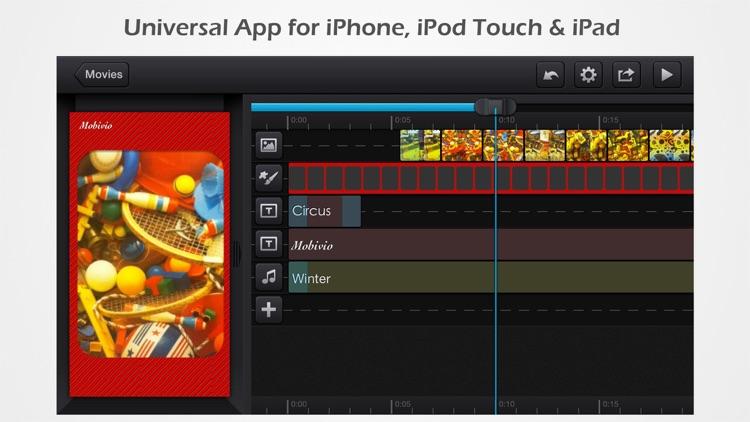 Cute CUT Pro - Full Featured Video Editor screenshot-3