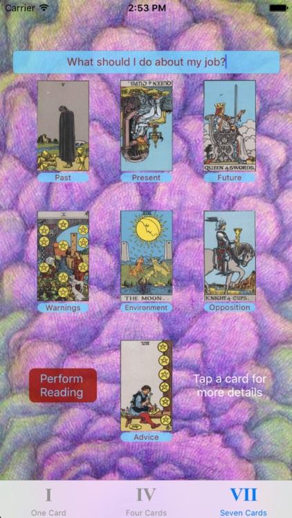 Tarot Card Reader Lite screenshot-4