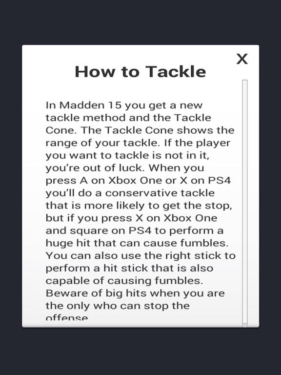 Cheats for Madden NFL 15-ipad-1