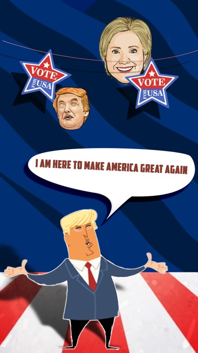 Hillary vs Donald trump  – USA election game 2016