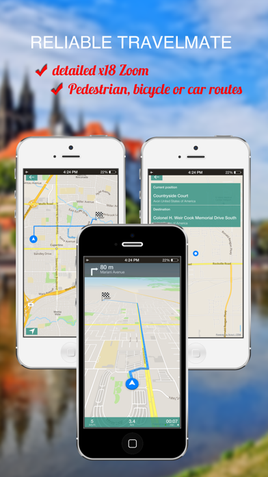 Guatemala City : Offline GPS Navigation