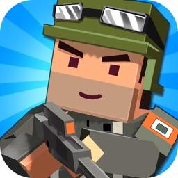 Pixel Shooter 2 - Blocks Battle 3D