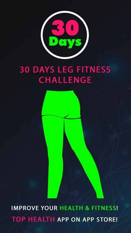 30 Day Leg Fitness Challenges ~ Daily Workout Free