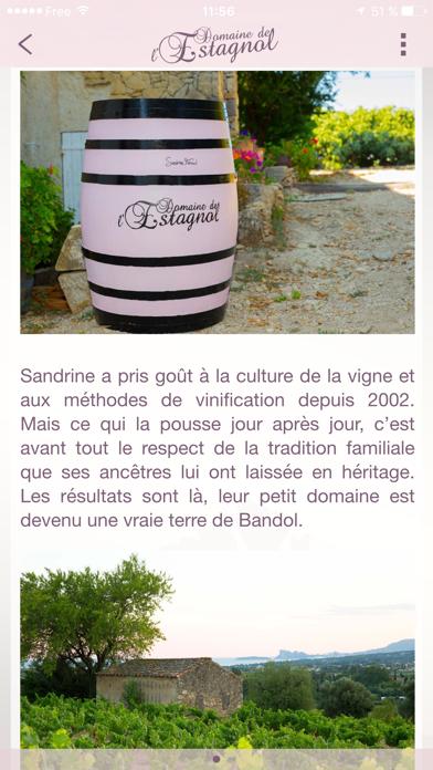 Domaine de l'Estagnol - Vins de Bandol screenshot three