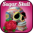 Sugar Skull Mandala - Day of the Dead Color Pages icon