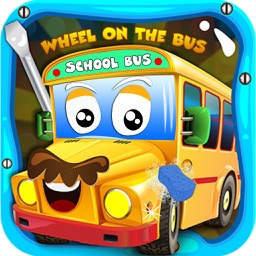 School Bus Spa Simulator - Wheels On The Bus