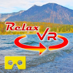 Relax VR Lake in Autumn Virtual Reality - 360