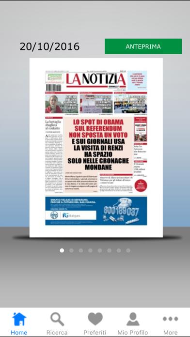 La Notizia Giornale screenshot one