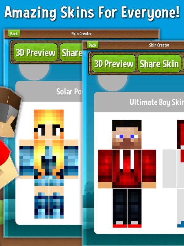 Skin Creator For Minecraft Free | Minecraft Skins - Online