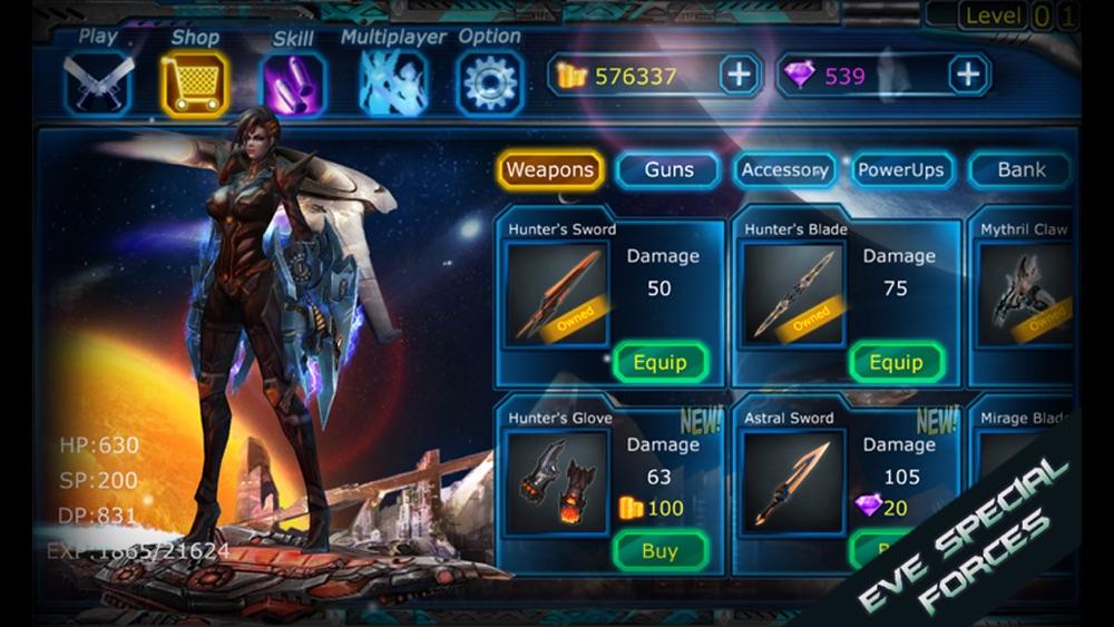 Eva Special Forces-Galaxy Hunter Code Friya Cheat Codes