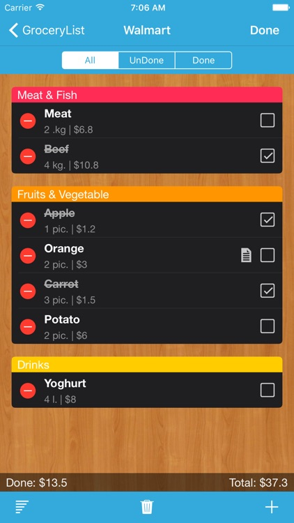Grocery List: Shopping List screenshot-4