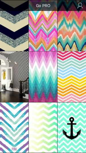 Chevron wallpapers hd cute girly backgrounds on the app store screenshots voltagebd Choice Image