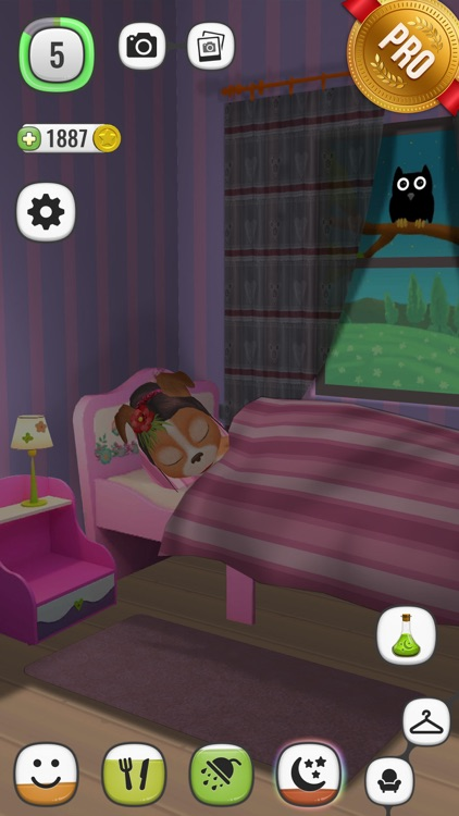 ! My Talking Lady Dog PRO - Virtual Pet screenshot-3