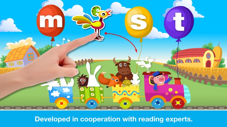 Phonics Farm Letter sounds school & Sight Words screenshot-2