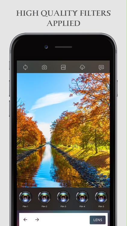 Analog Camera 7 Pro for iMessage screenshot-3