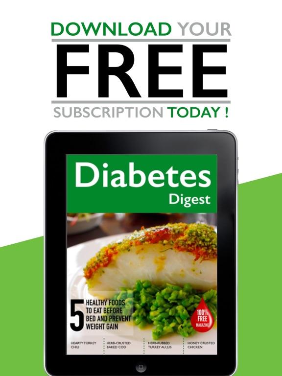 AAA+ Diabetes Digest - Diabetes Information Digest for Diabetics screenshot