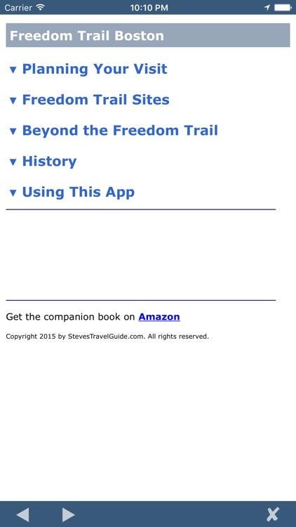 Freedom Trail Boston screenshot-3