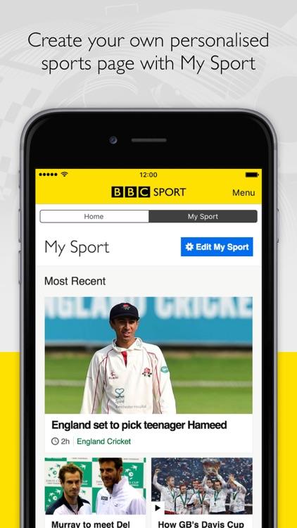 BBC Sport screenshot-0