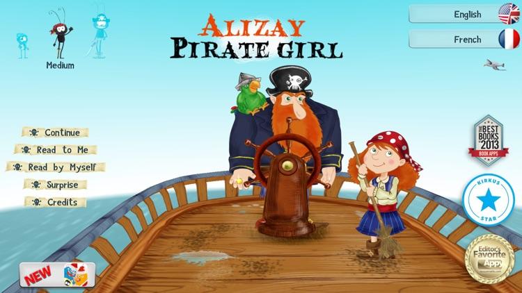 Alizay, pirate girl screenshot-0