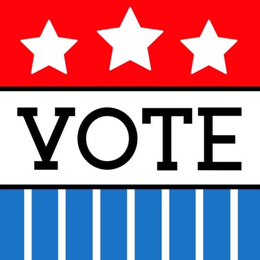 Go Vote Stickers