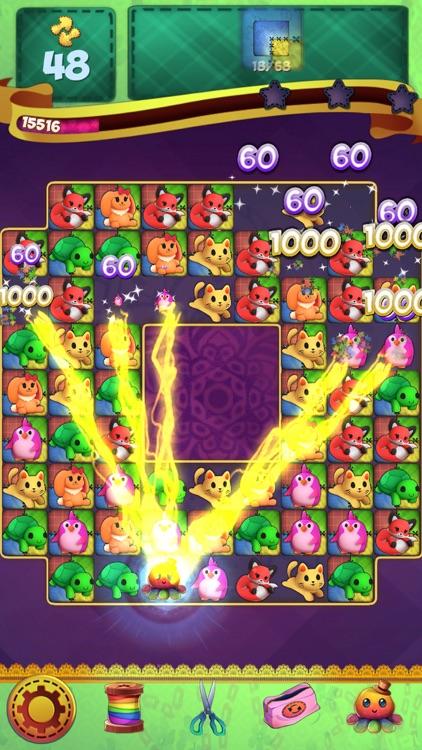 Fluffy Doll Friends: Match 3 Puzzle Games screenshot-3