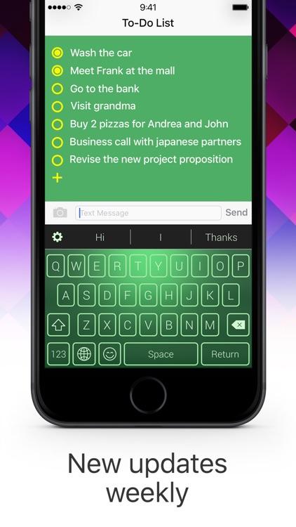 Color Keyboard: Themes & Emoji screenshot-4