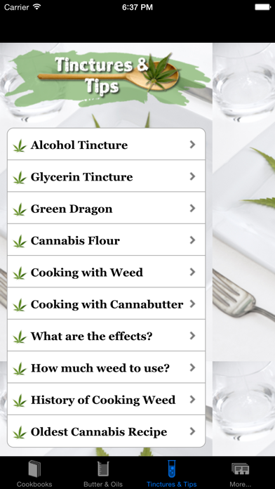 Mega Marijuana Cookbook review screenshots