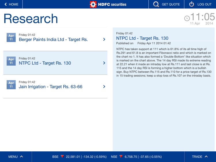 HDFC securities screenshot-3