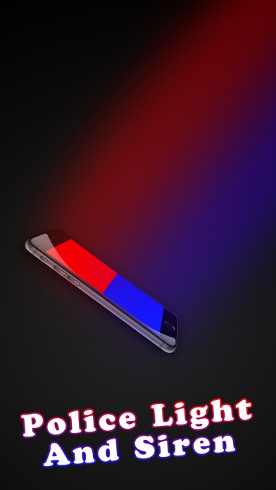 Police Siren And Flash Lights Red/Blue By KHALID MGAAD (iOS, United States)    SearchMan App Data U0026 Information