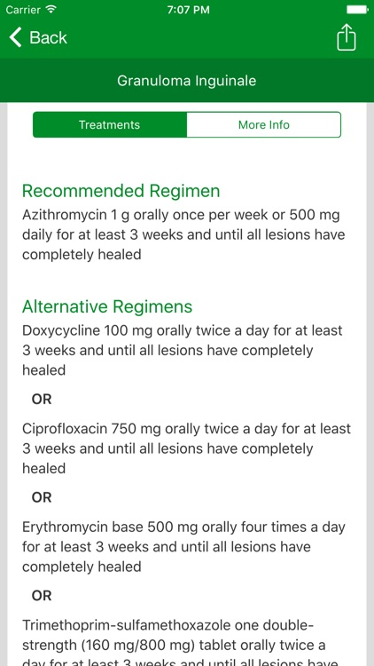 STD Clinical Toolbox for iPhone