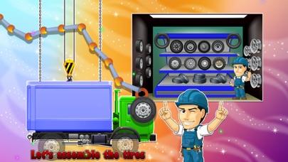 Truck Factory - Super cool vehicle maker simulator game for crazy mechanics screenshot three