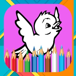 Birds Coloring Book For Kids Free