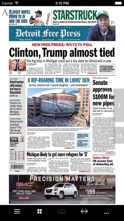 Detroit Free Press eEdition