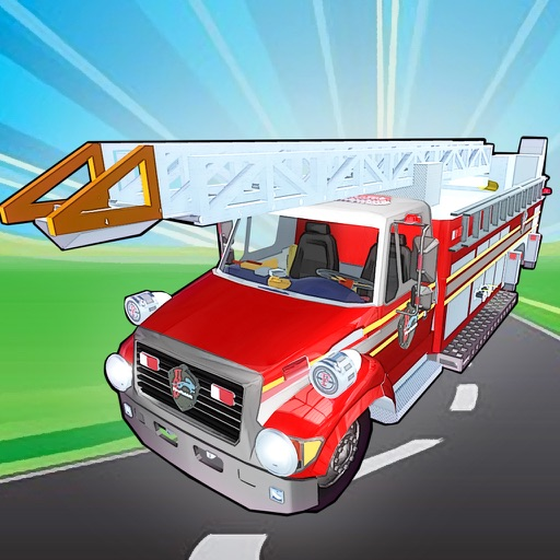Fix My Truck: Red Fire Engine LITE