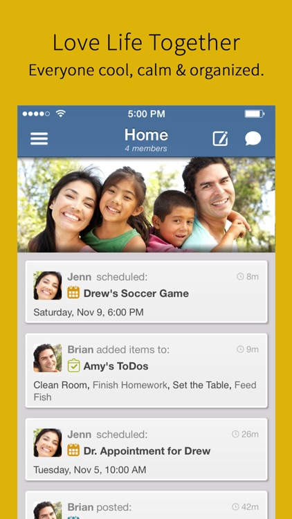 Hub Family Organizer: Shared Calendar & Todo Lists app image