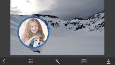 点击获取Holly Jolly Christmas Hd Frames Editor
