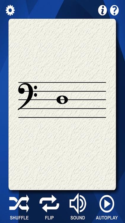 Bass Guitar Flash Cards