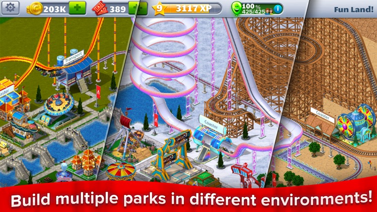 RollerCoaster Tycoon® 4Mobile™ screenshot-0